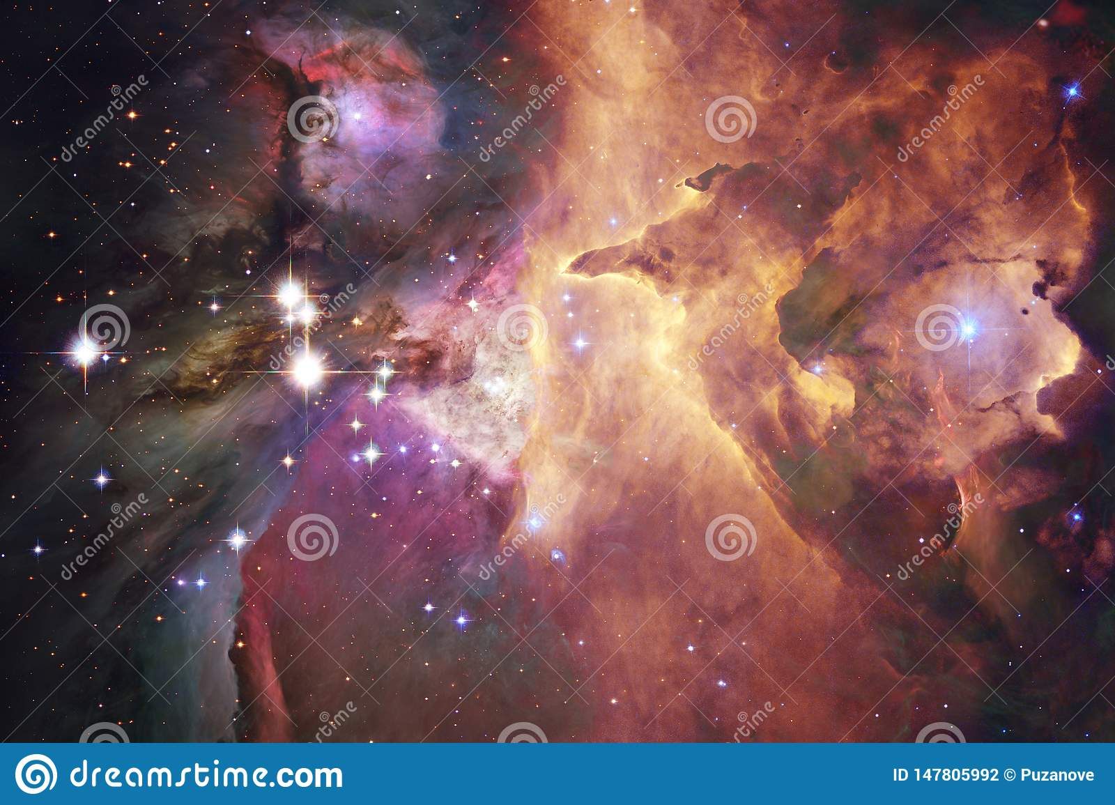 Nebula. Outer space image that is suitable for wallpaper
