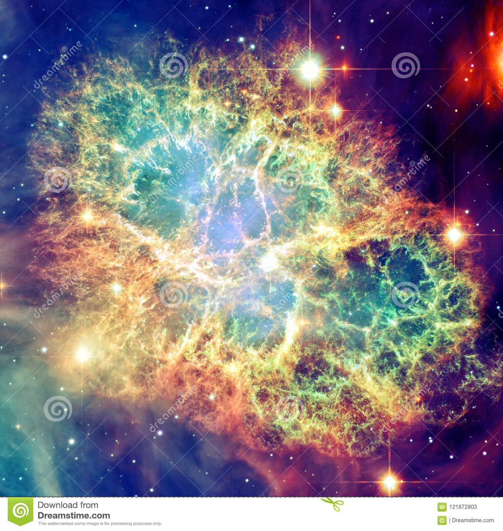 Nebulosa de caranguejo Elementos desta imagem fornecidos pela NASA