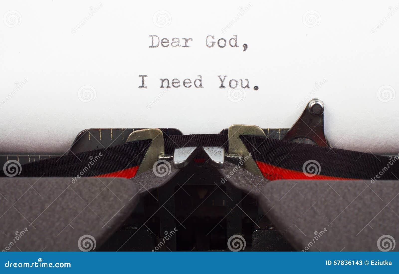 A necessidade para o deus