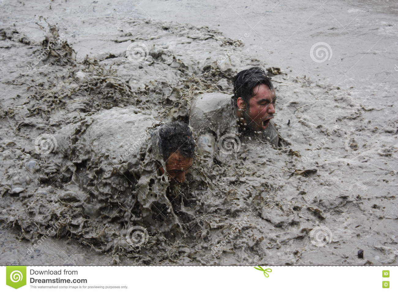 Neck Deep In Mud Editorial Image Image Of Water Neck