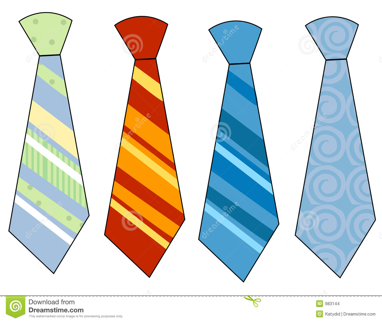Neck Ties Stock Images - Image: 983144