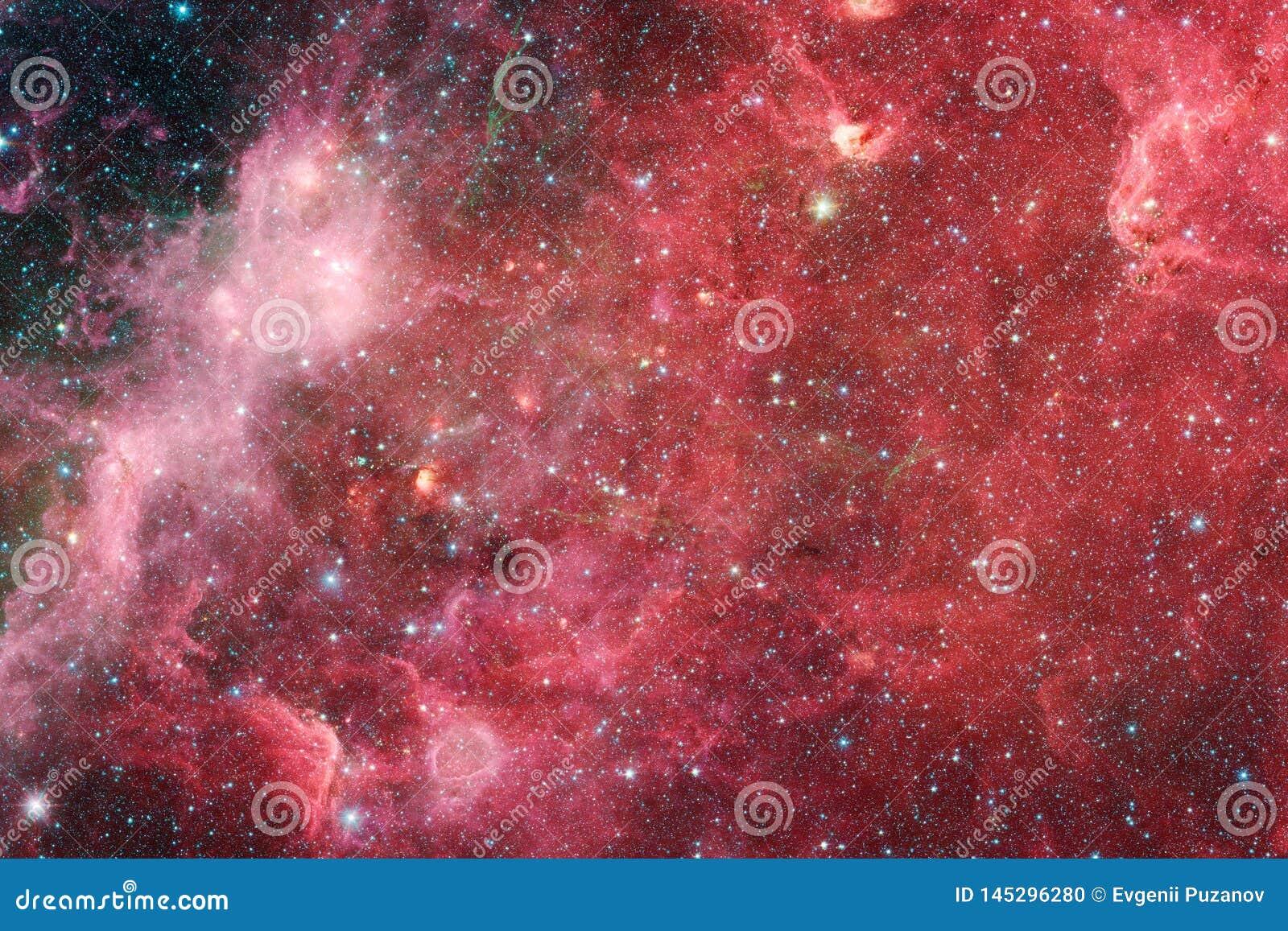 Necropolis Immagine dello spazio cosmico che ? adatta a carta da parati