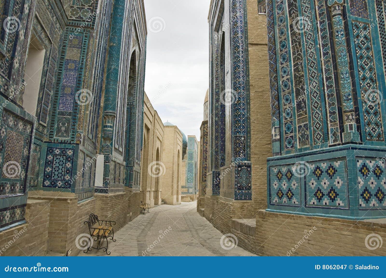 Necropolis in Samarkand