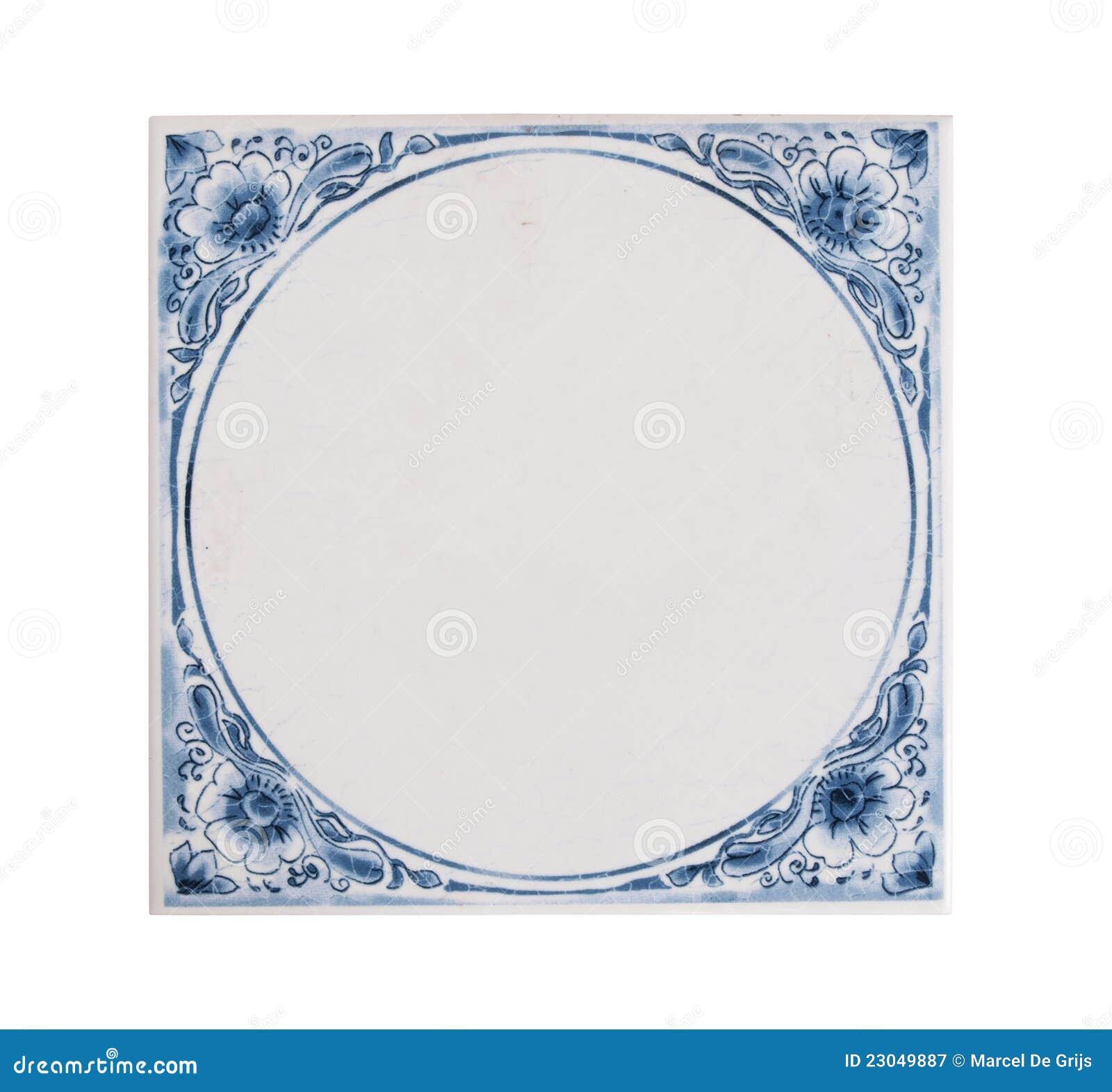 Nederlandse blauwe tegel royalty vrije stock fotografie afbeelding 23049887 - Ruimte tegel te leven ...