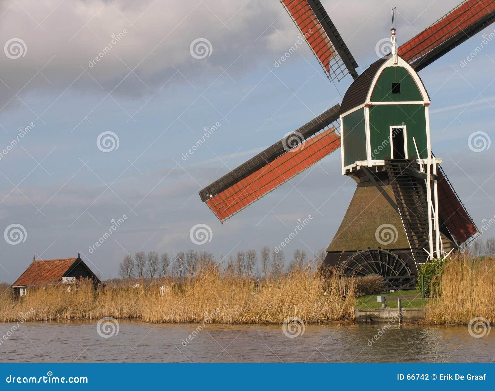 Nederlandse windmolen 3