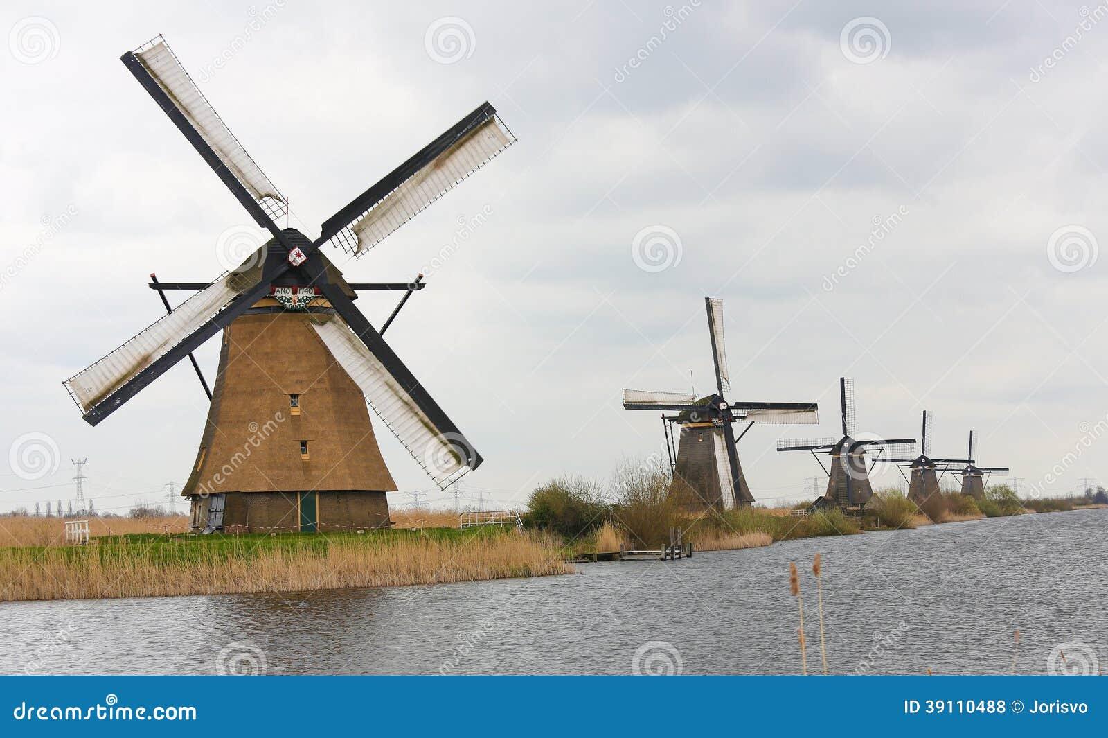 Nederlandse windmolens
