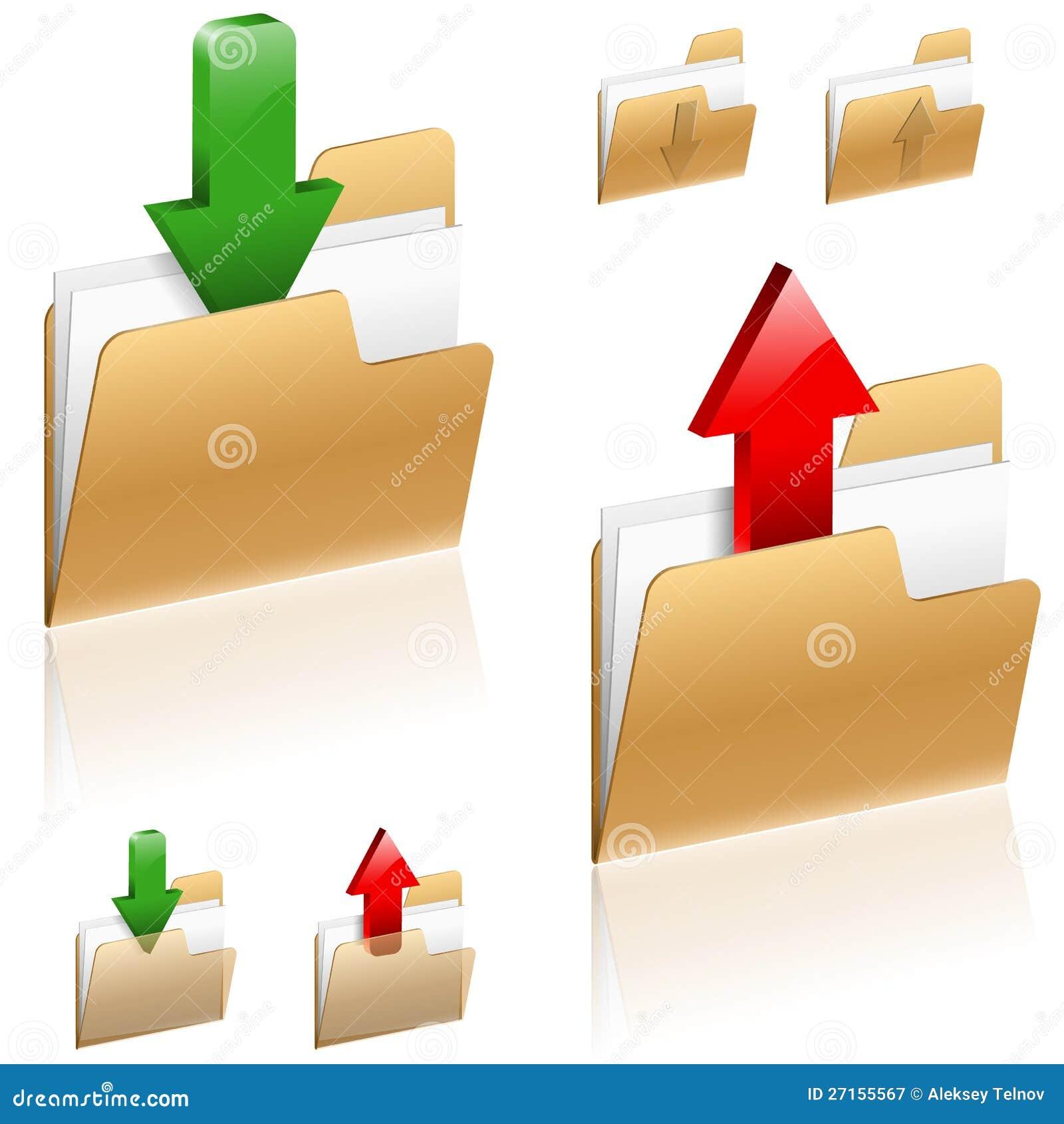 Nedladdning- och Uploadbegrepp