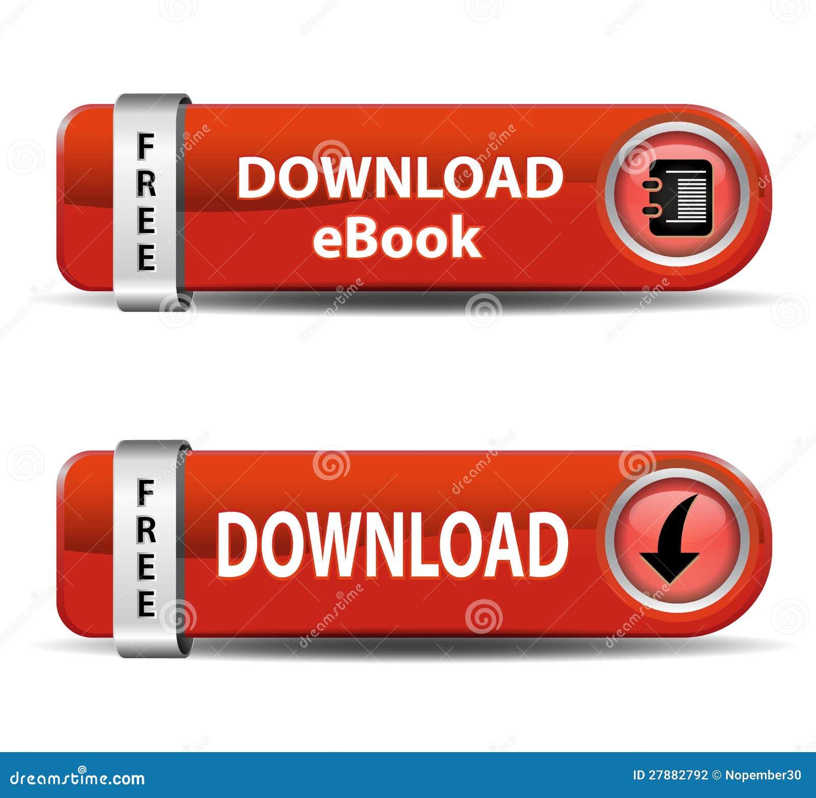 NedladdningEbook knappar