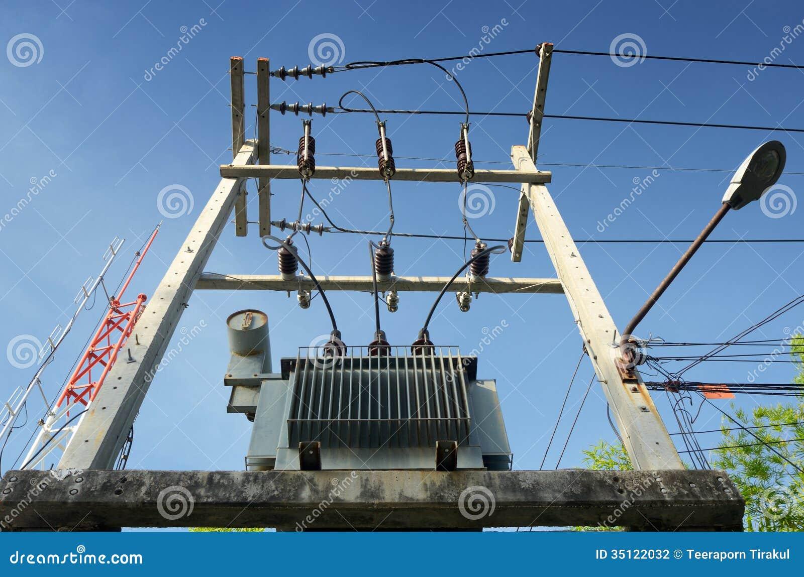 Nedsänkt fördelningstransformator för olja på plattformen