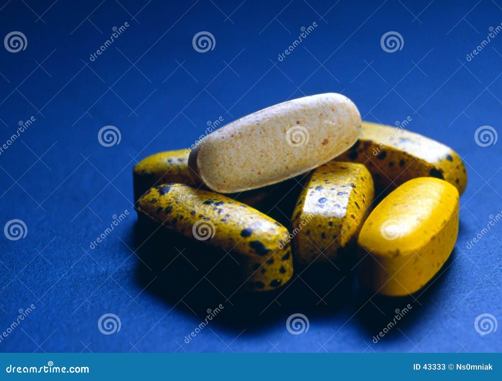 Neem uw vitaminen