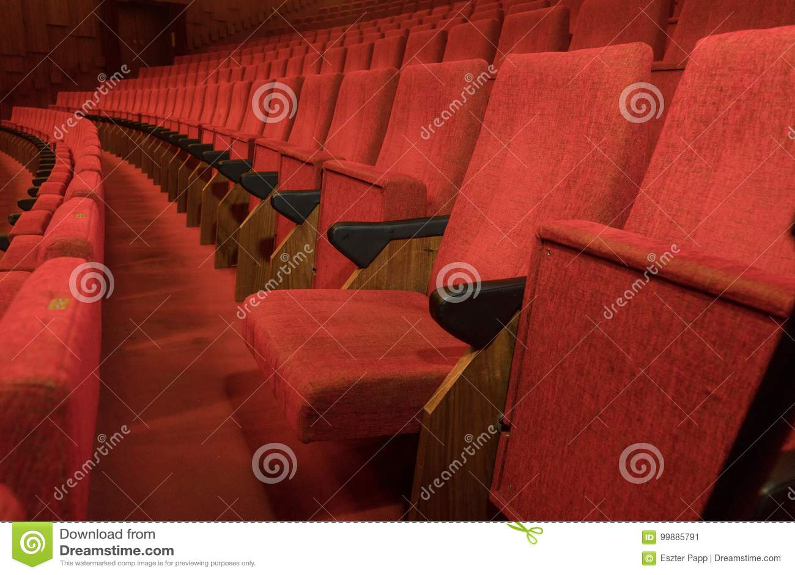 Neem uw zetel - theaterstoelen