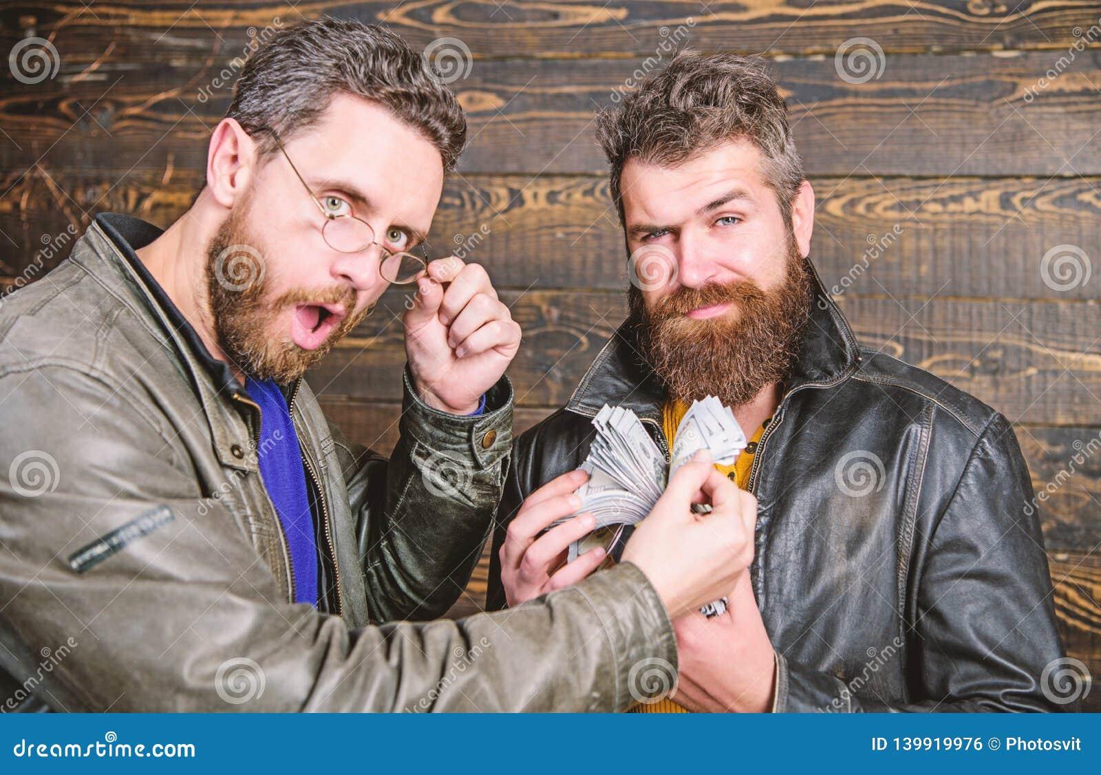 Negócio da máfia Lucro impressionante Casaco de cabedal farpado brutal do desgaste do moderno dos homens e para guardar o dinheir