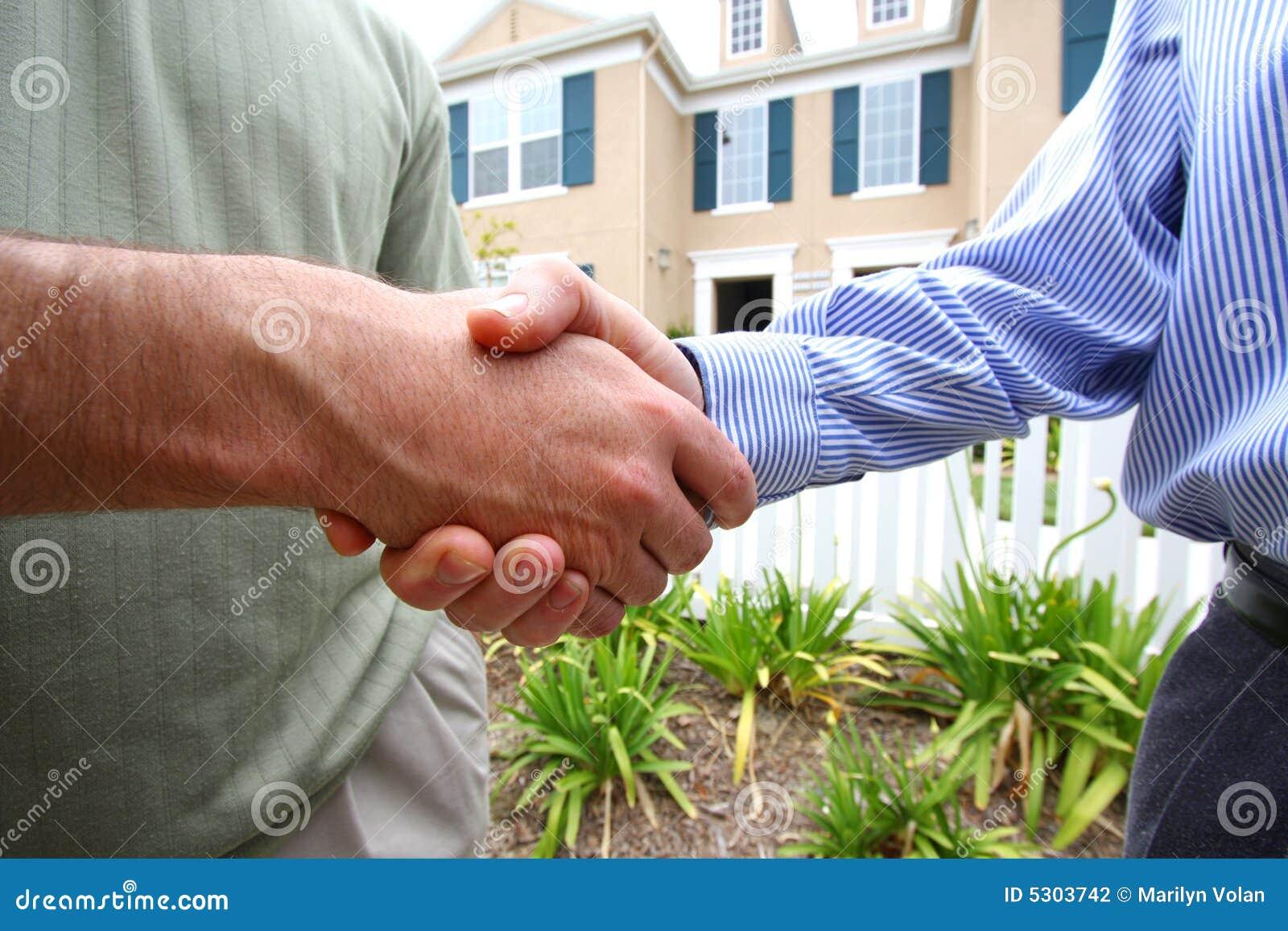 Negócio do aperto de mão