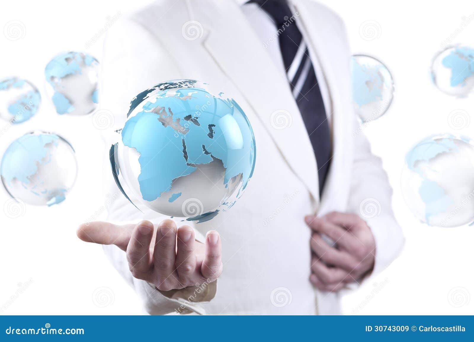 Negócio e conceito do Internet
