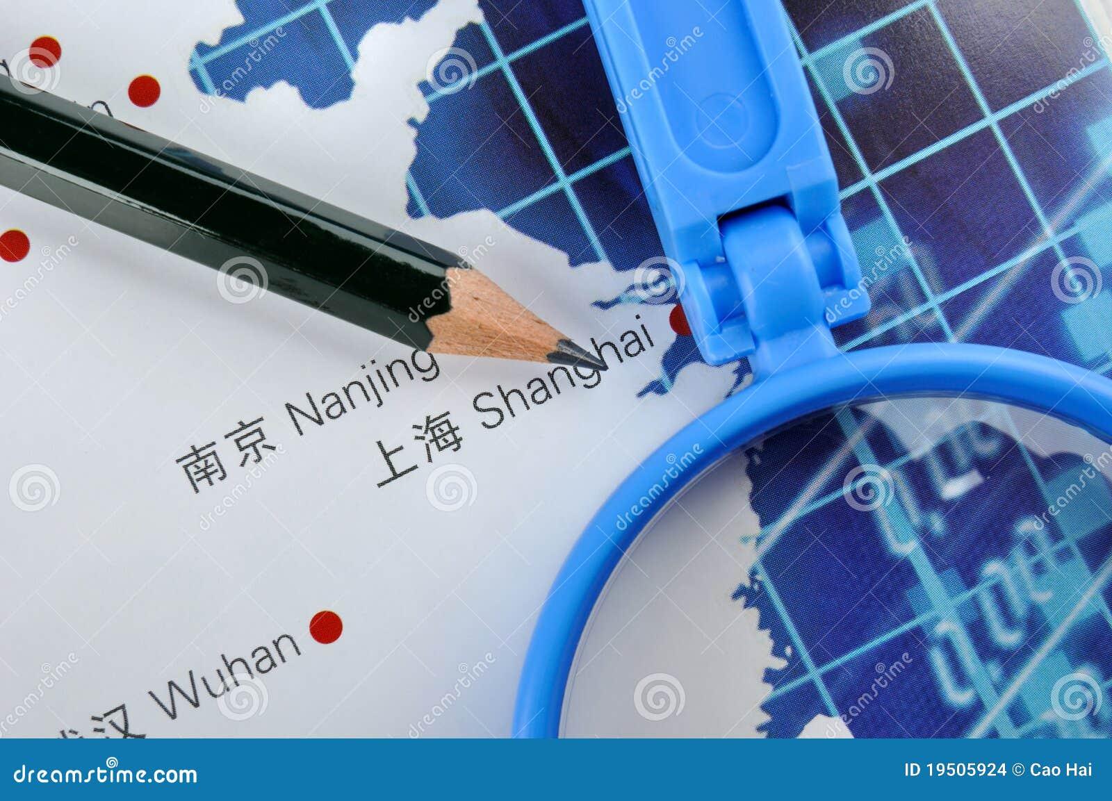 Negócio em China oriental