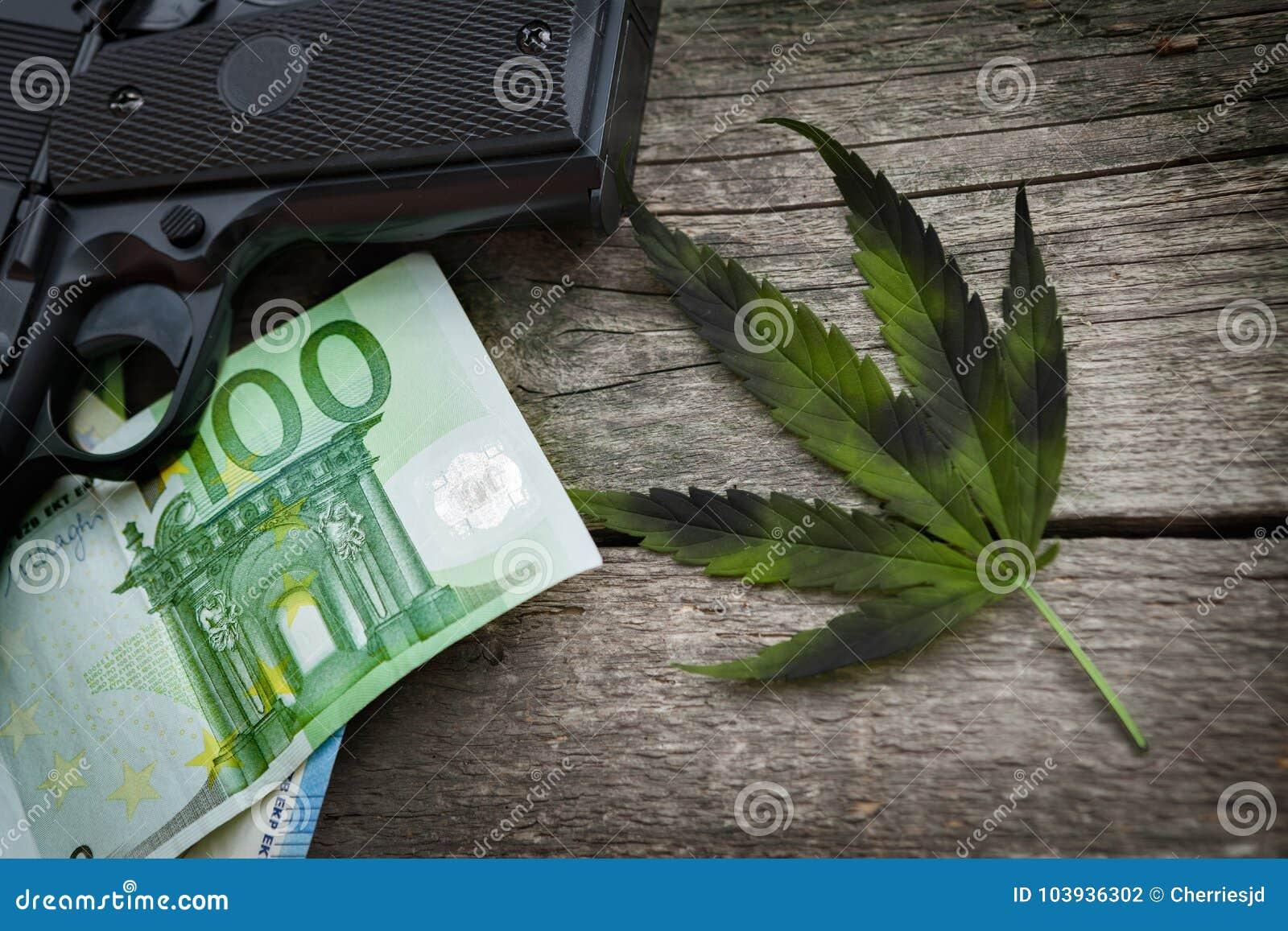 Negócio ilegal com droga