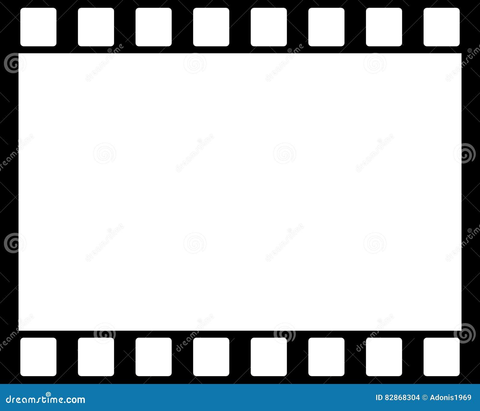 Negative frame stock photo. Image of black, development - 82868304