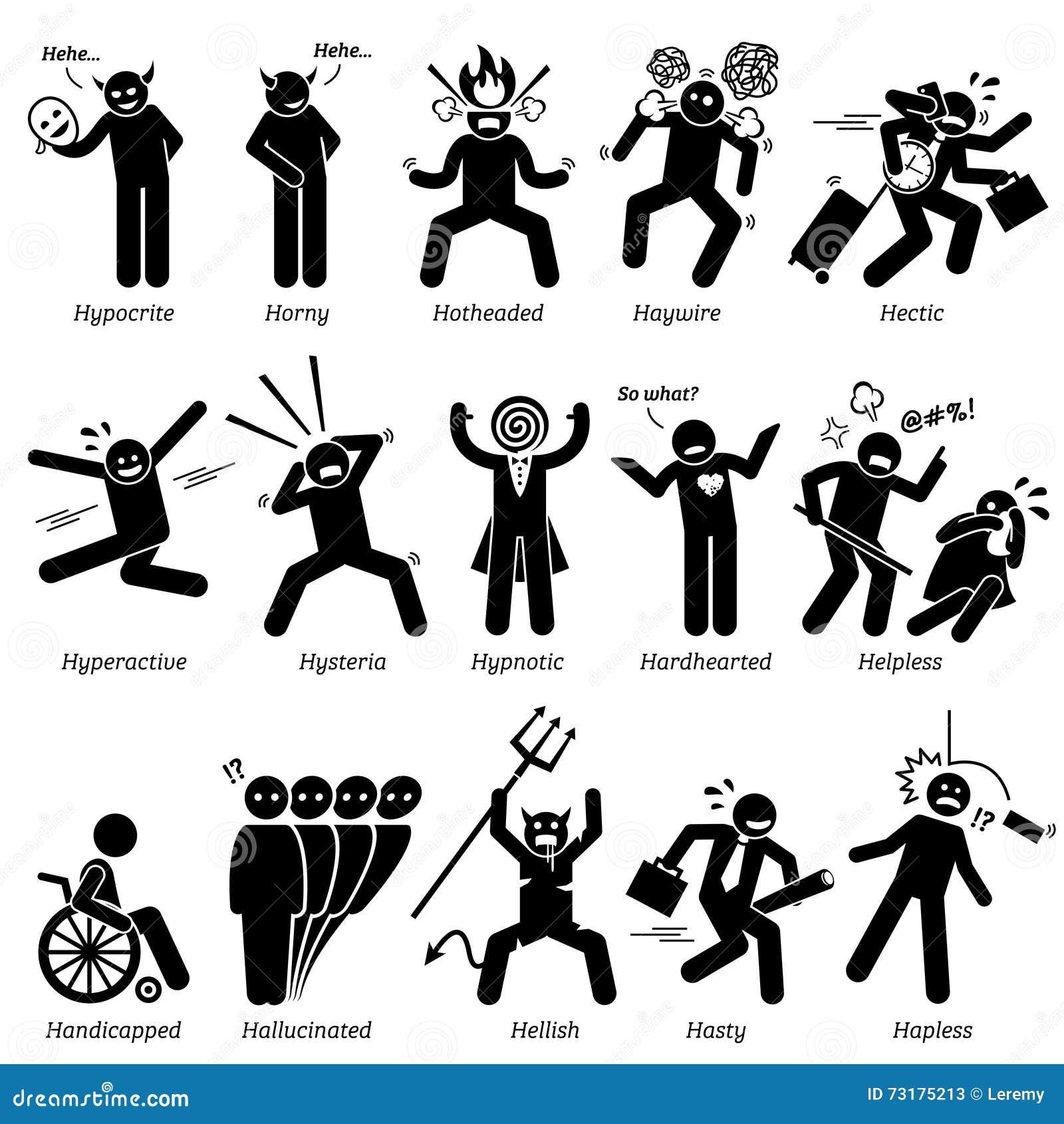 personality traits stock illustrations 451 personality traits