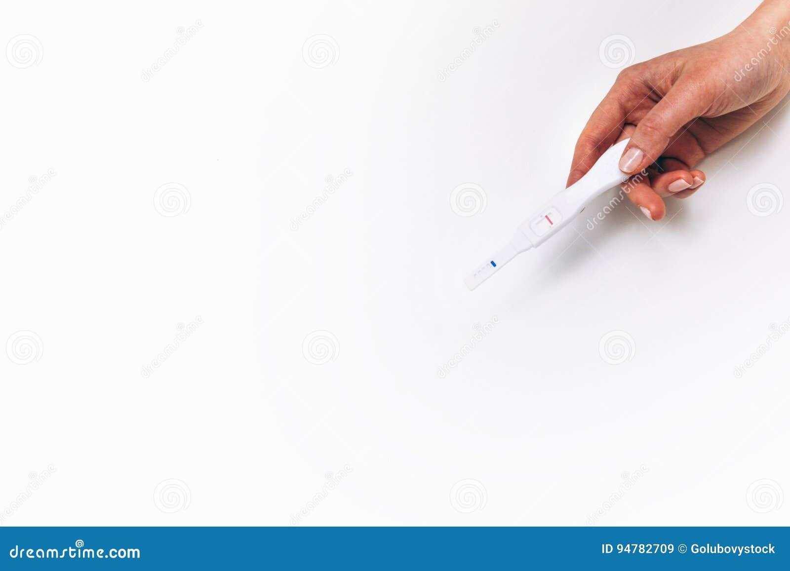Negative Pregnancy Test  Childfree, Birth Control  Stock