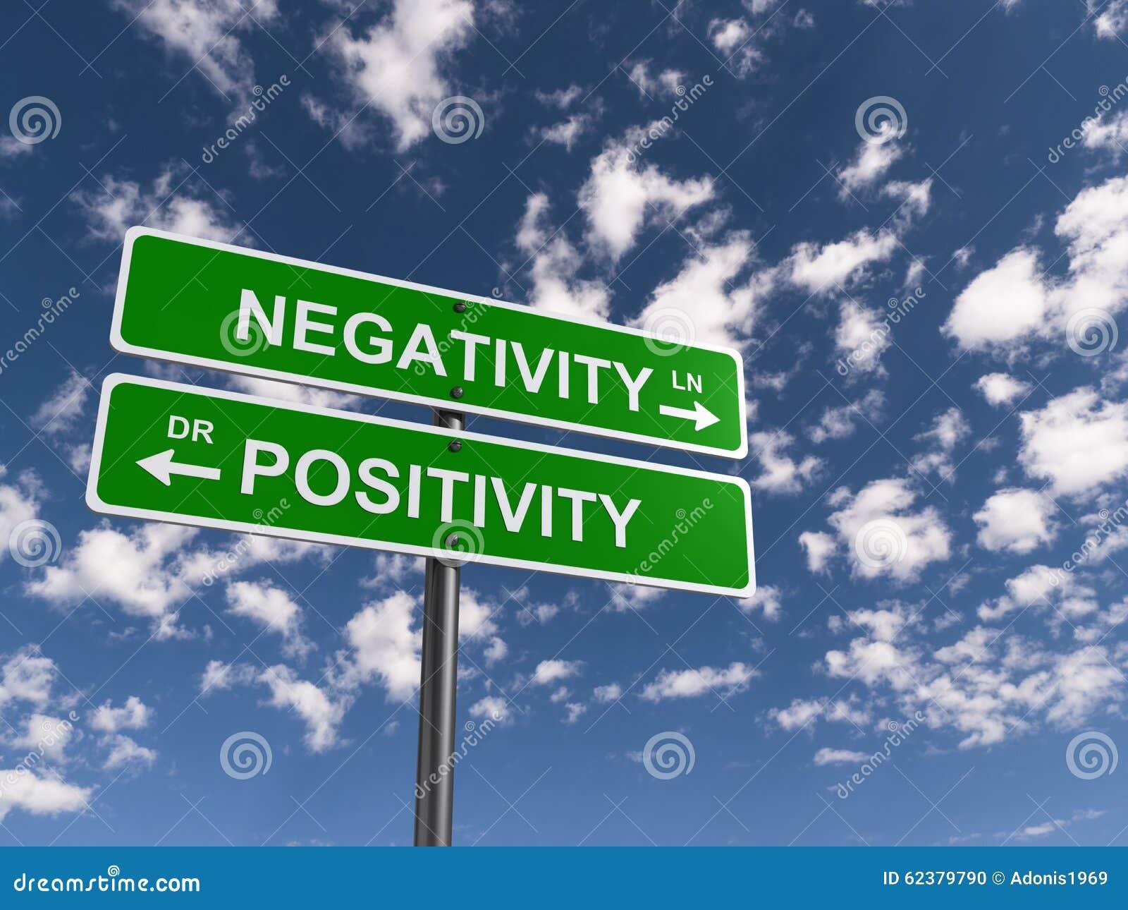 Negativiteit, Positiviteit