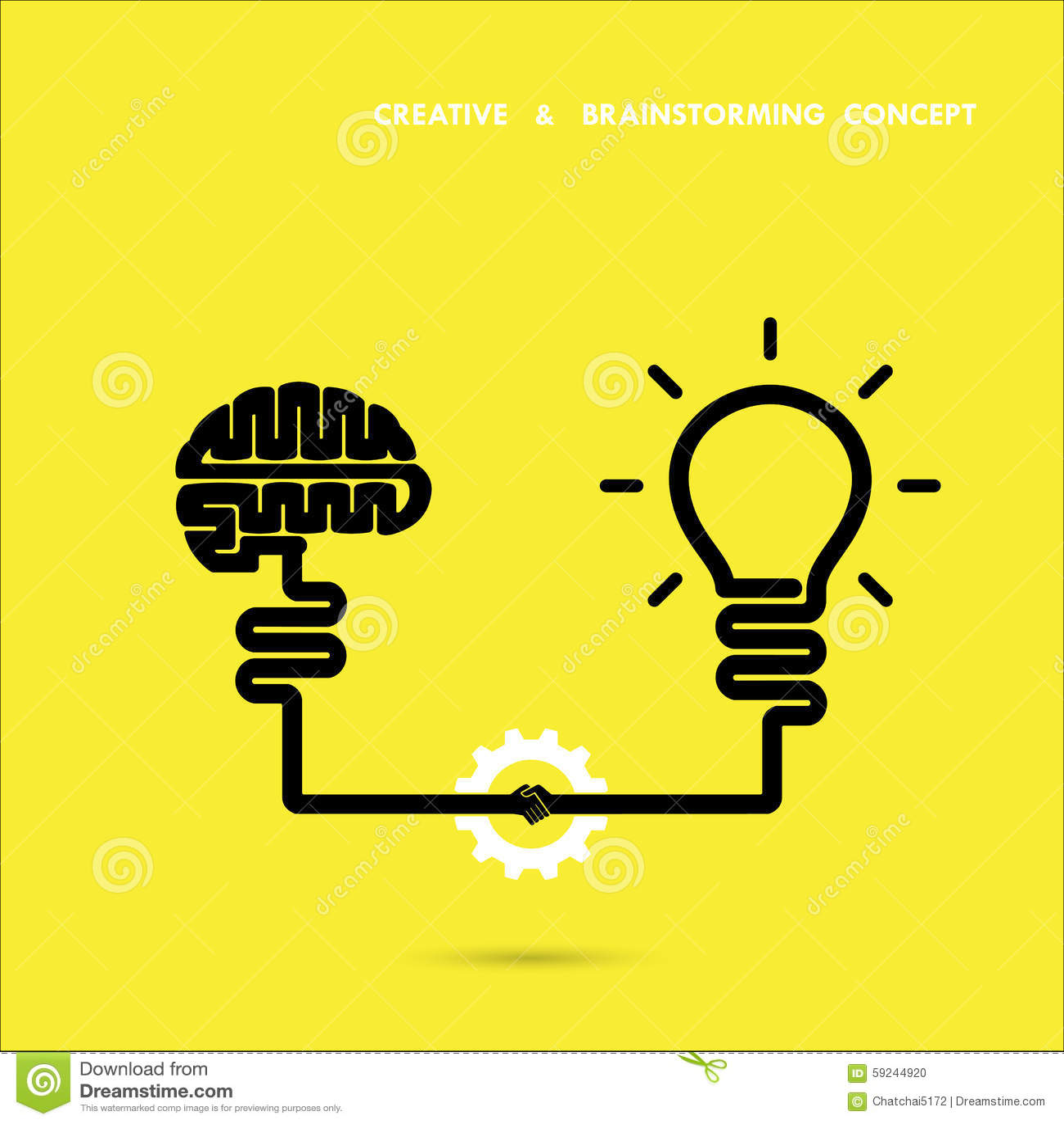 Negocio del concepto del intercambio de ideas e idea creativos de la educación