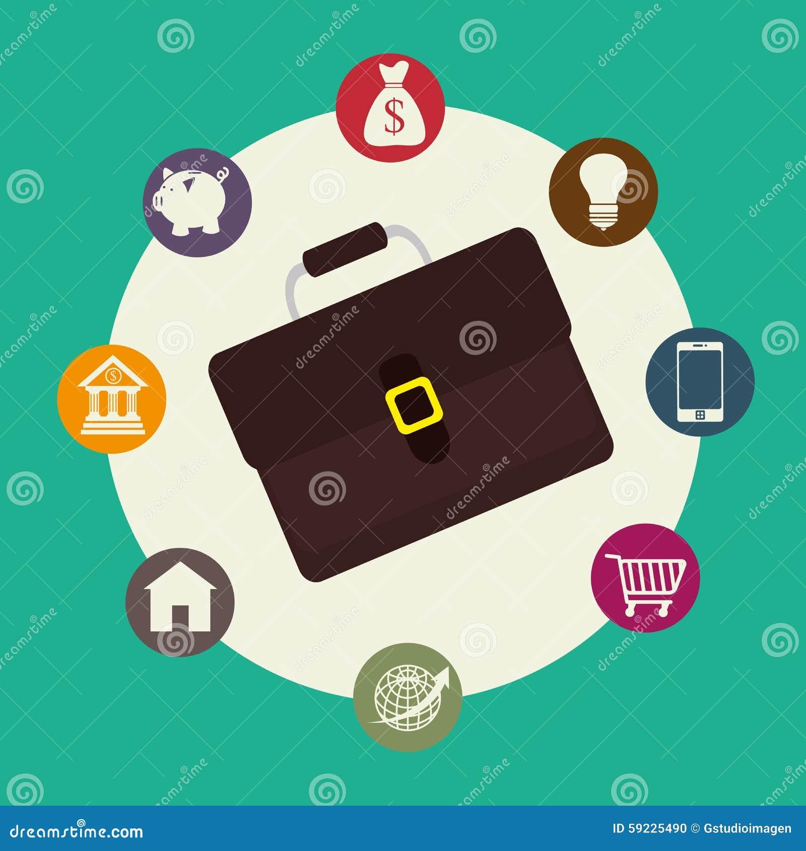 Download Negocio, Dinero Y Economía Global Ilustración del Vector - Ilustración de prosperidad, guarro: 59225490