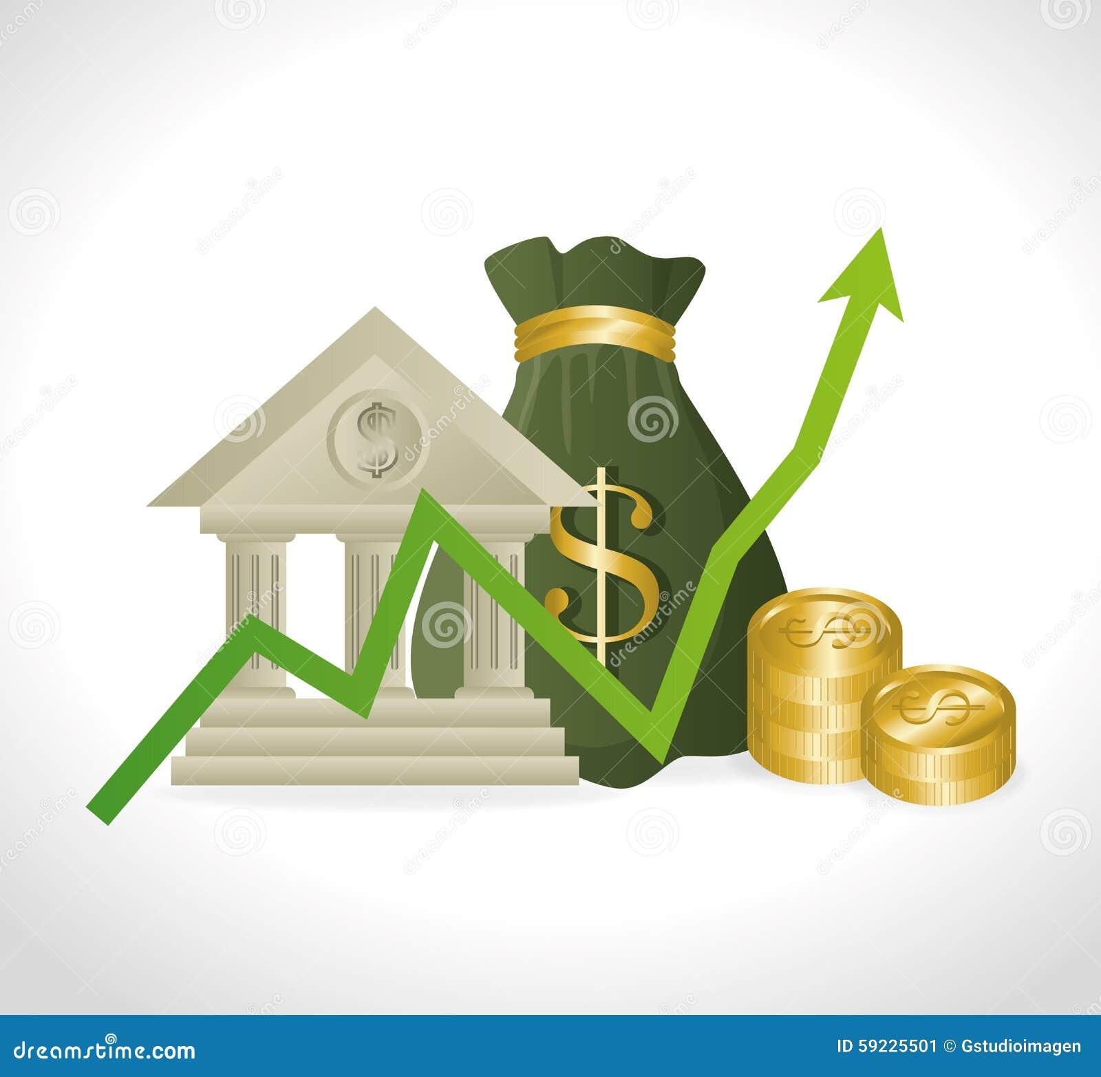 Download Negocio, Dinero Y Economía Global Ilustración del Vector - Ilustración de inversión, paga: 59225501