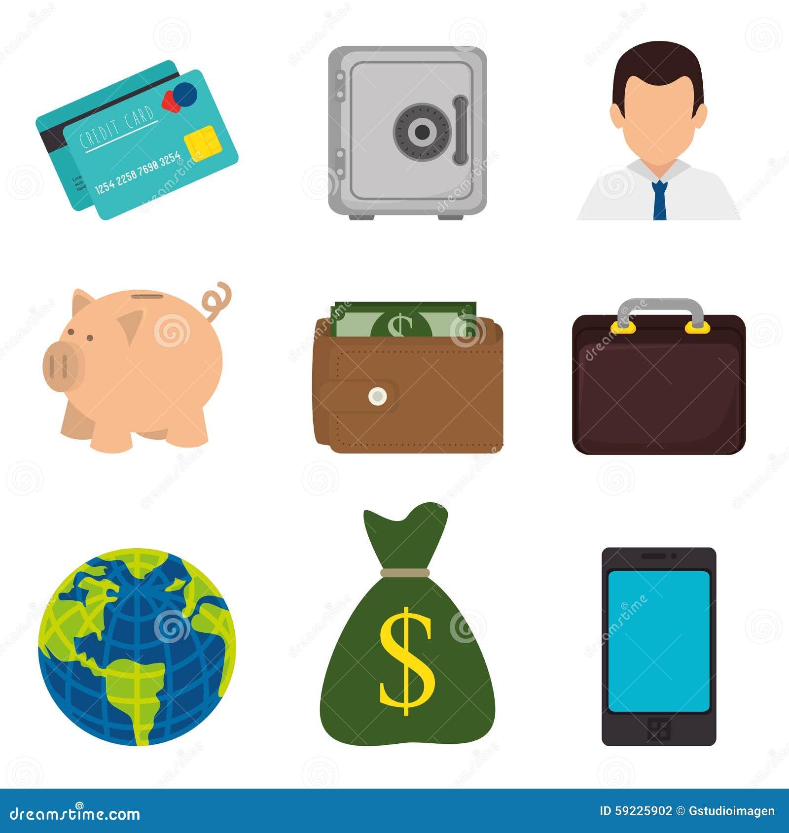 Download Negocio, Dinero Y Economía Global Ilustración del Vector - Ilustración de éxito, finanzas: 59225902