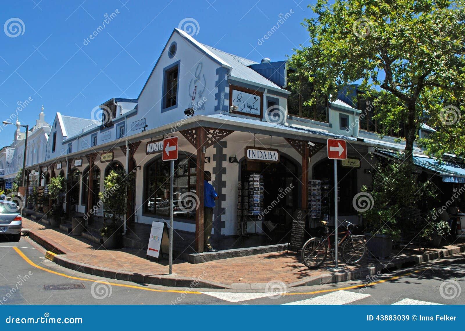 Negozi di regalo africani, Stellenbosch, Sudafrica