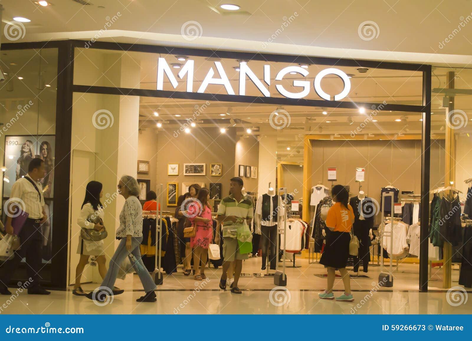 pretty nice 6b5b1 20ff4 Negozio Del Mango In Tailandia Fotografia Stock Editoriale ...