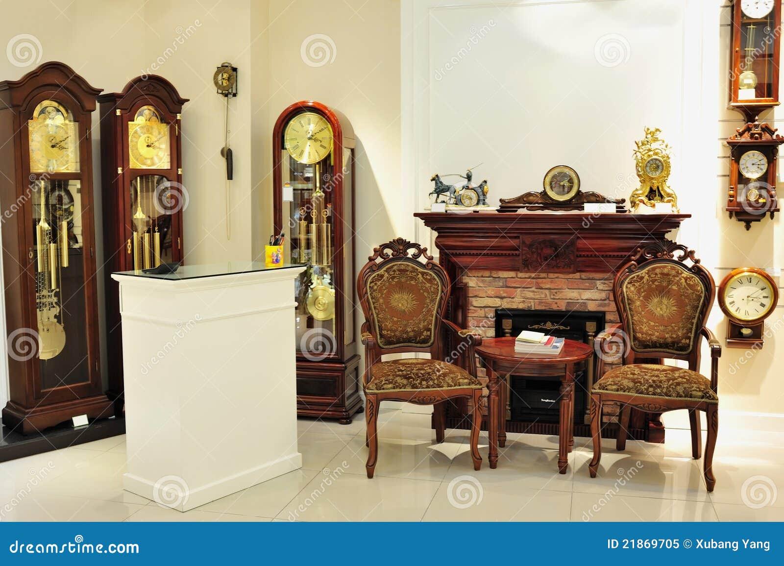 Negozio dell orologio di pendolo