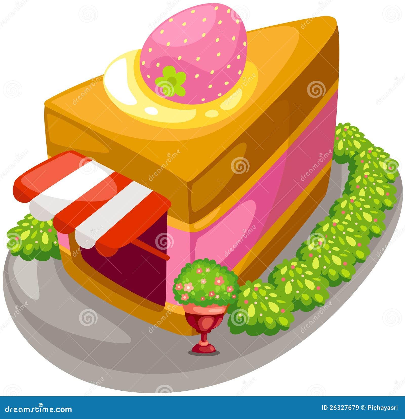 Negozio della torta