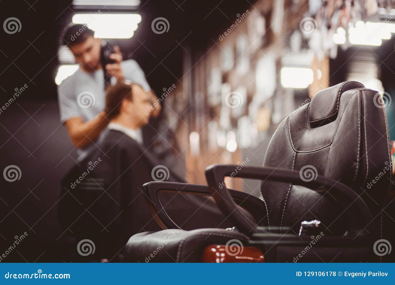 Negozio di barbiere per gli uomini