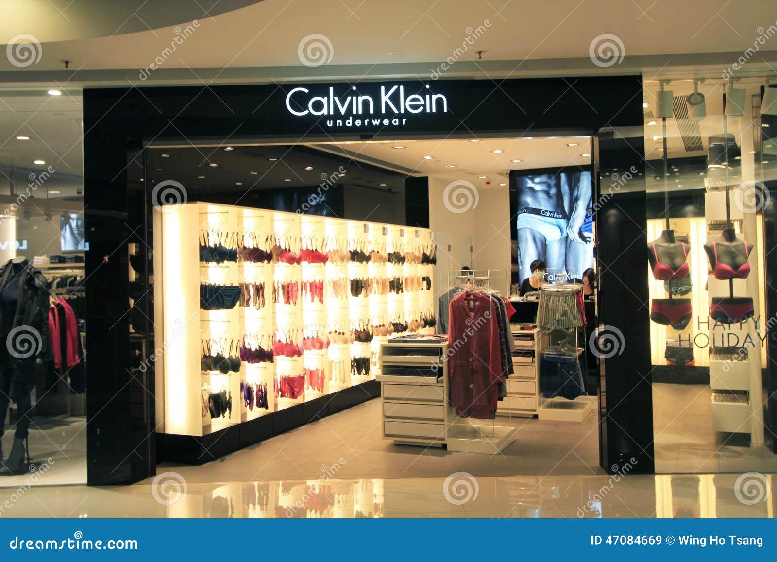 best authentic ae510 02b76 Negozio Di Calvin Klein A Hong Kong Immagine Stock ...