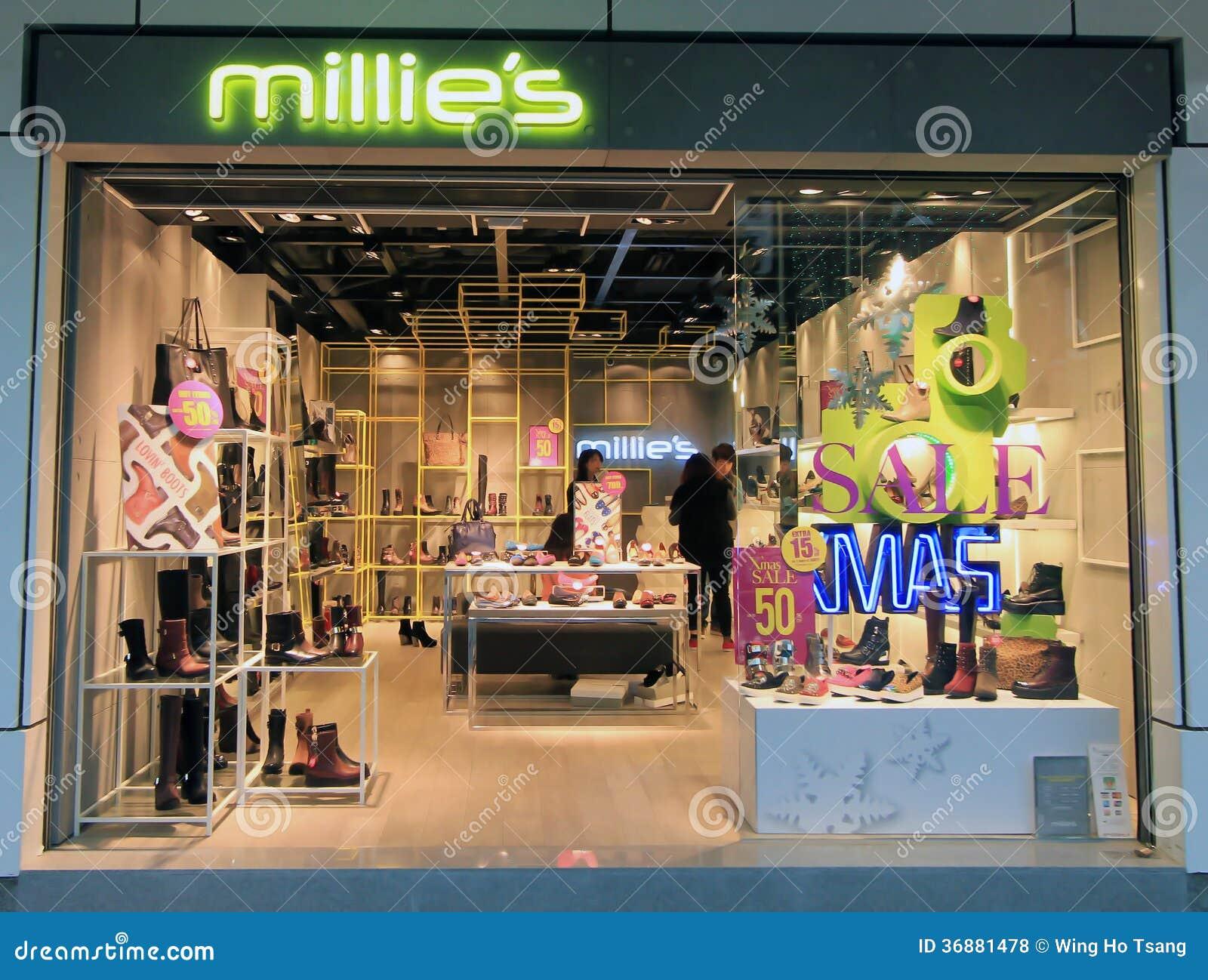 Download Negozio Di Millies A Hong Kong Fotografia Stock Editoriale - Immagine di pattini, rivenditore: 36881478
