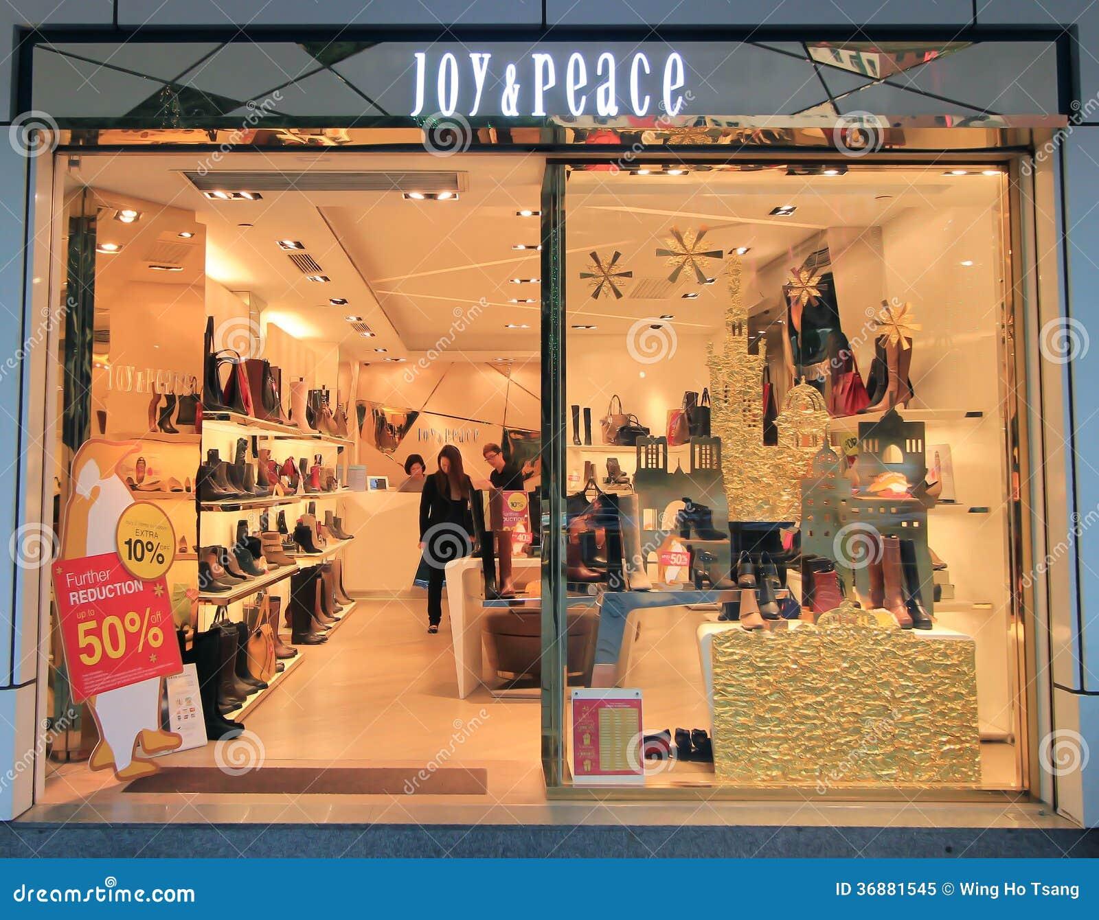 Download Negozio Di Pace E Di Gioia A Hong Kong Immagine Editoriale - Immagine di pattini, gioia: 36881545