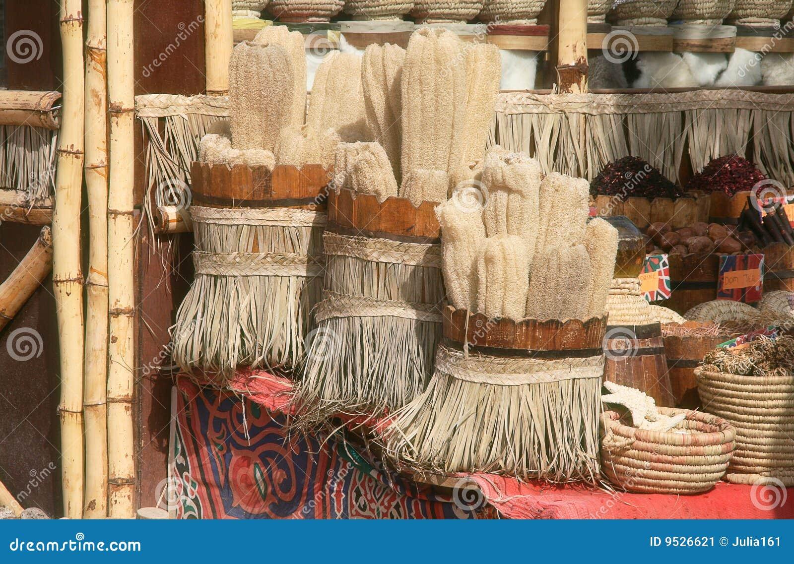Negozio di ricordo in Sharm El Sheikh. L Egitto.