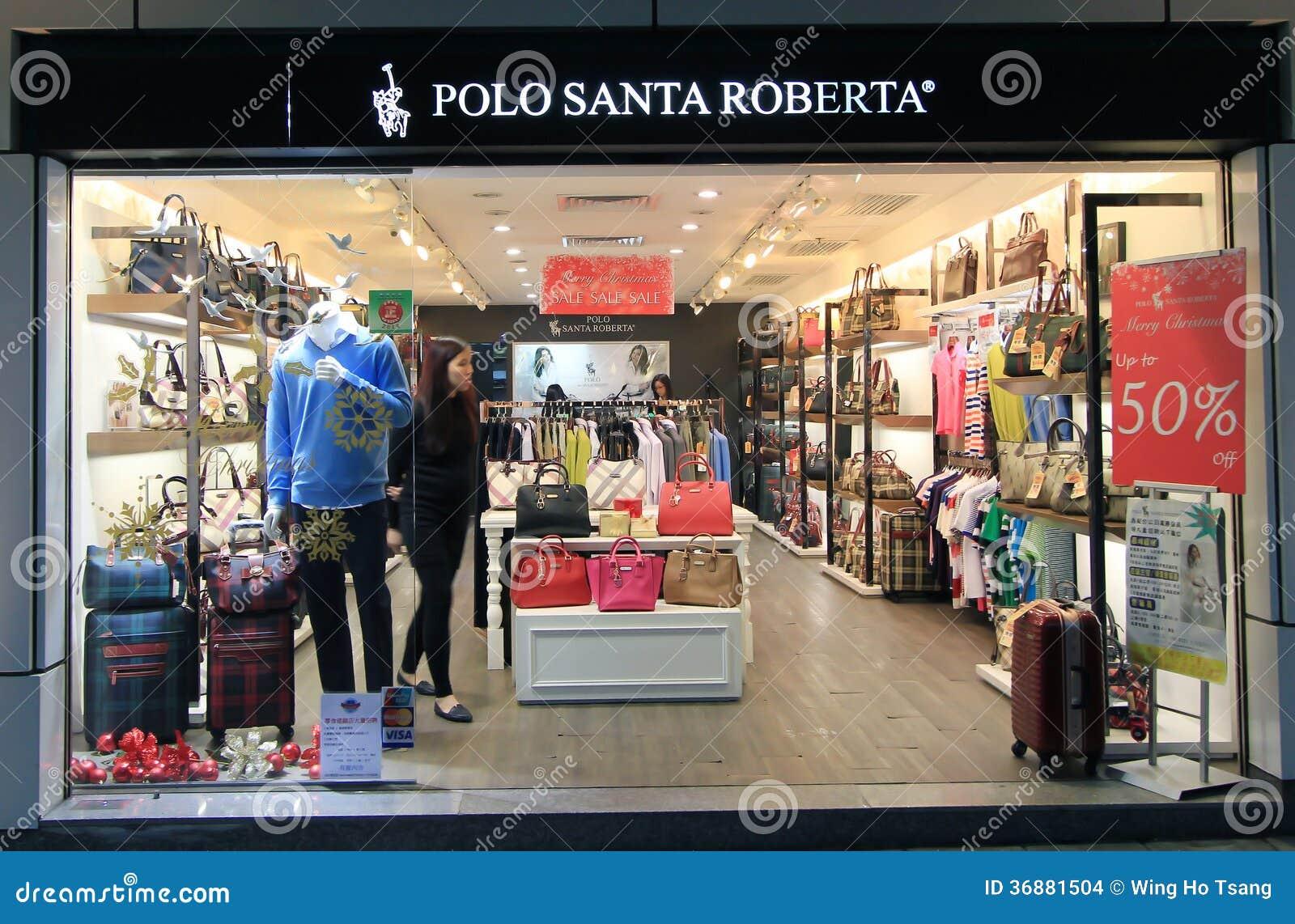 Download Negozio Di Santa Roberta Di Polo A Hong Kong Immagine Stock Editoriale - Immagine di negozio, kong: 36881504