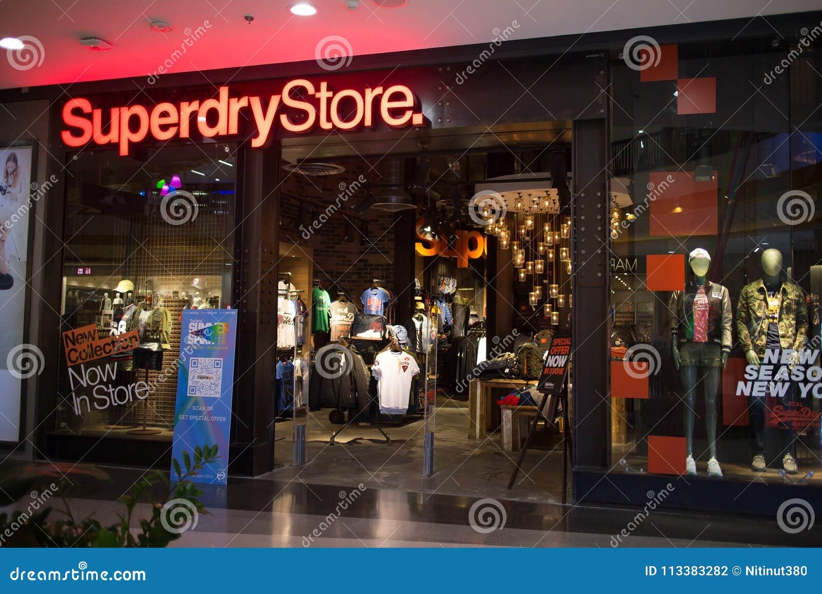 9da5481b34 Negozio Di Superdry Progettazione E Fabbricazione Dell'abbigliamento ...
