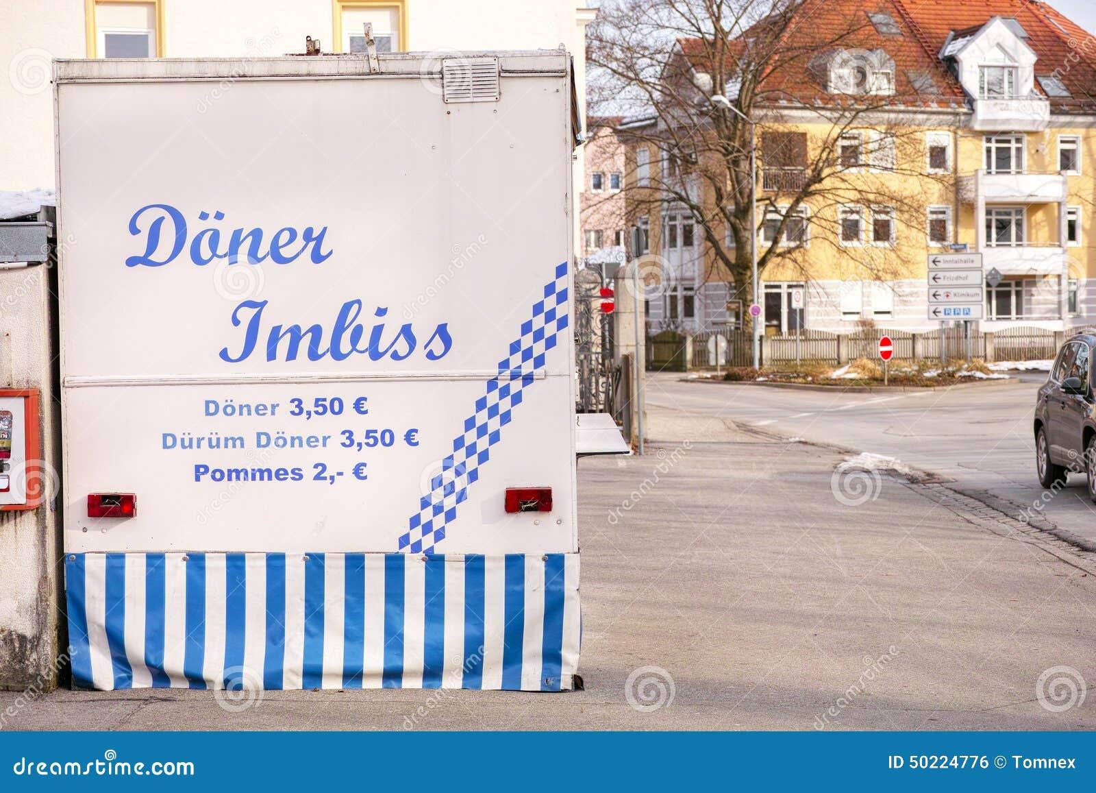 Negozio tedesco di kebab