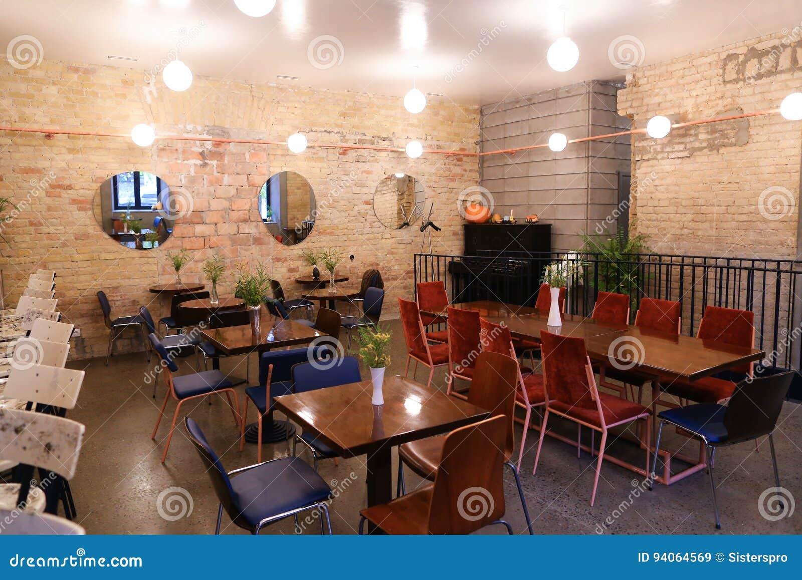 Nehmen Sie Modisches Café Oder Restaurant Der Designideen Weil Bar ...