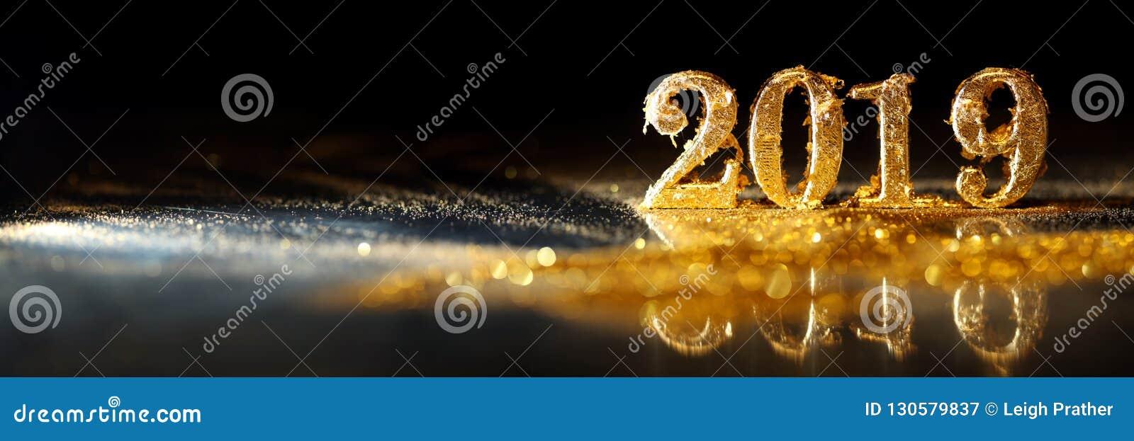 2019 nei numeri dell oro che celebrano il nuovo anno
