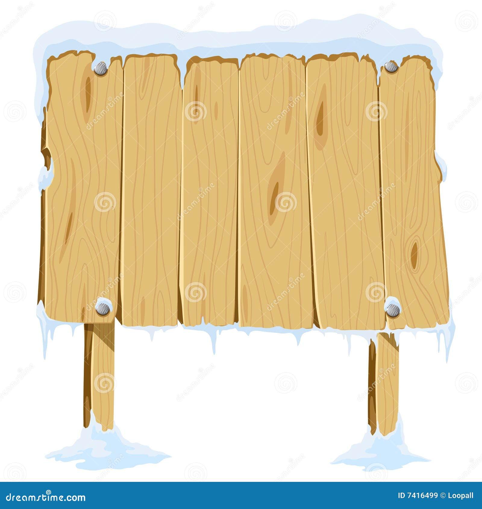 Neige Blanc De Panneau En Bois Images libres de droits Image 7416499 # Panneau Copeaux Bois Compressé