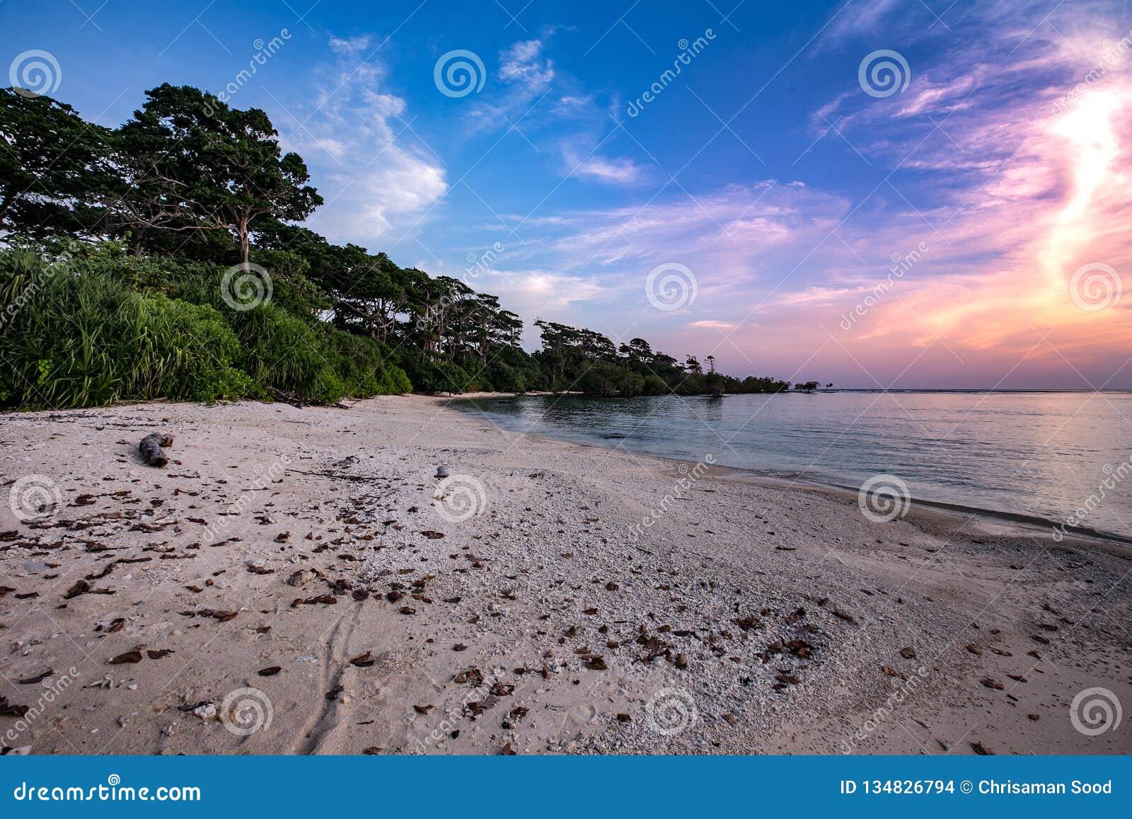 Neil wyspa Andaman i Nicobar