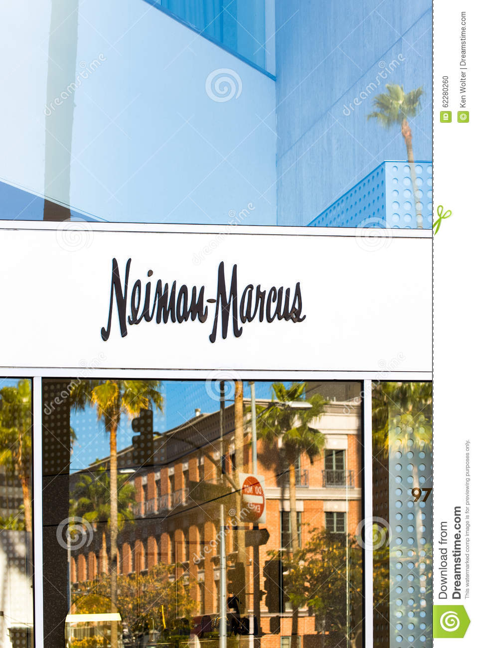 Neiman Marcus Store Exterior And Logo Editorial Image - Image of