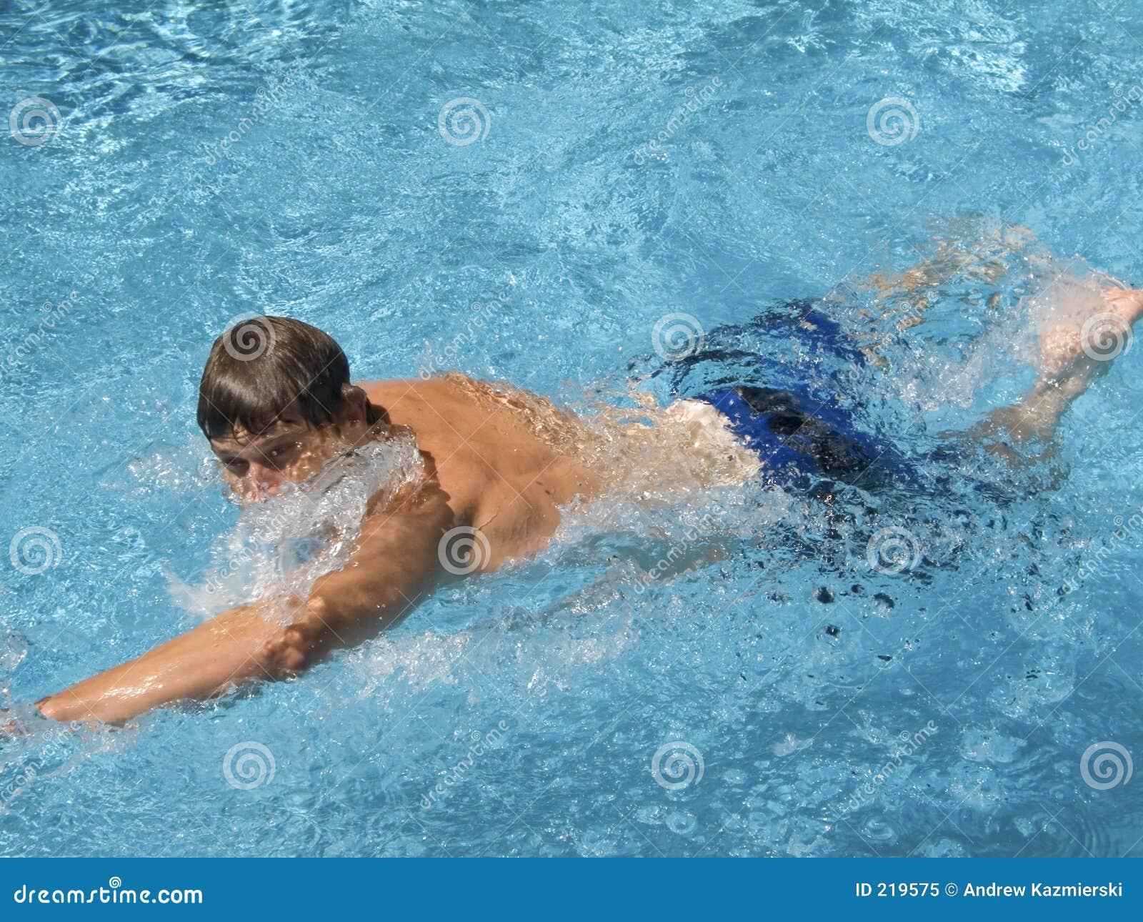 Nella nuotata