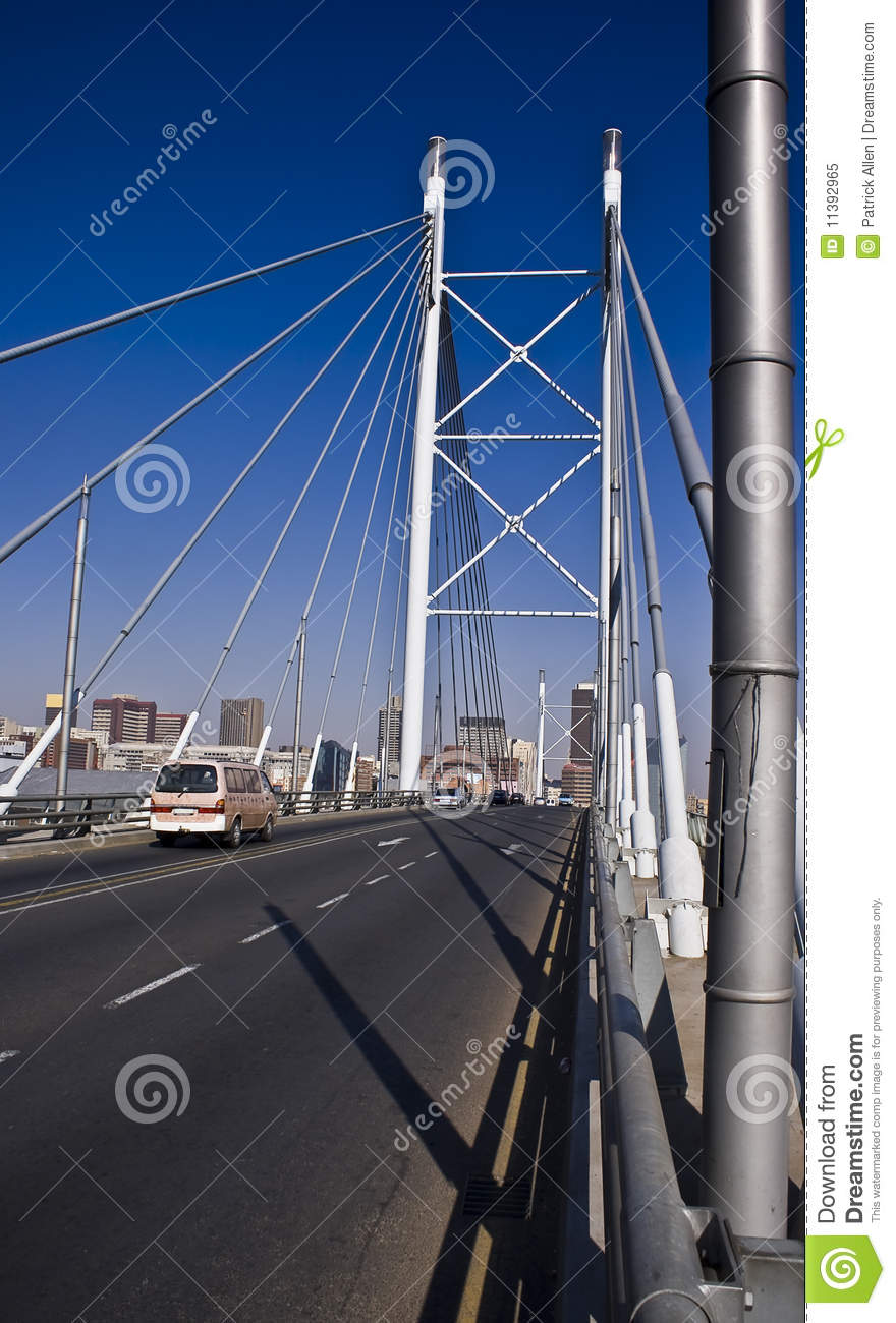 Nelson Mandela Bridge Royalty Free Stock Photo - Image ...