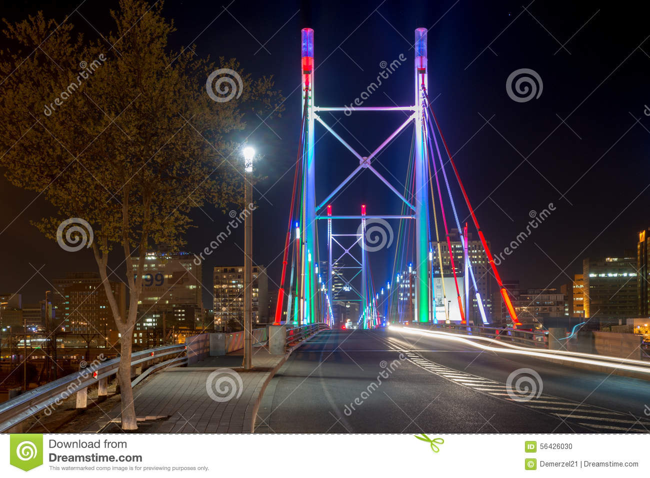 Nelson Mandela Bridge - Johannesburg, South Africa ...