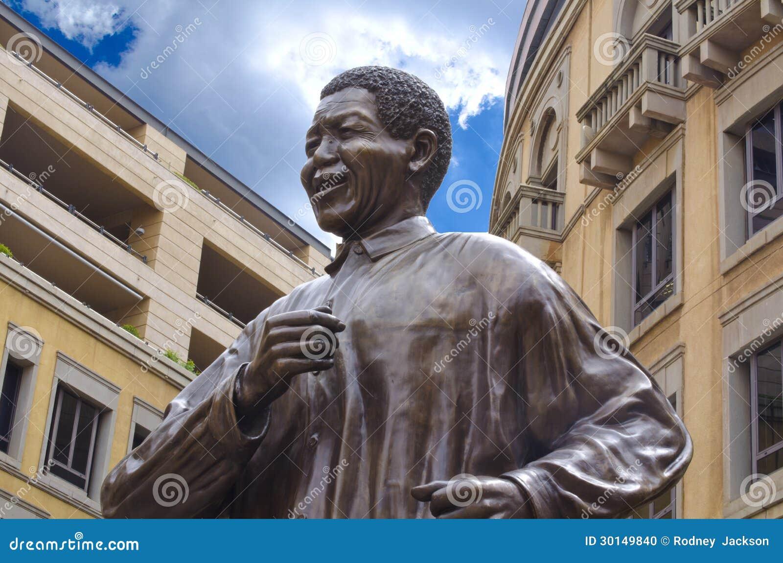 Nelson Mandela Statue in Johannesburg