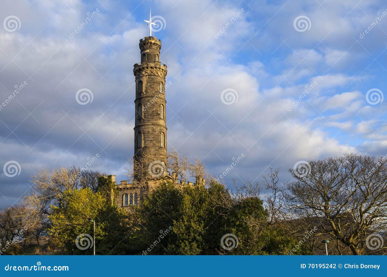Nelson Monument i Edinburg
